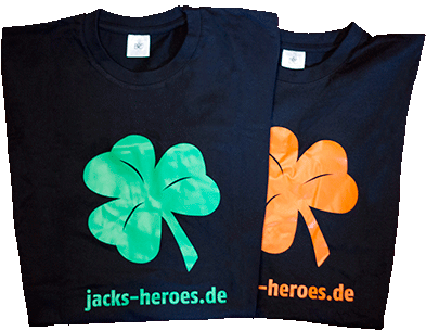 T-Shirt Jack´s Heroes
